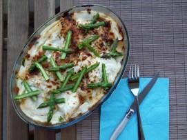 Lasagnes aux légumes printaniers & burrata - My Ghilli